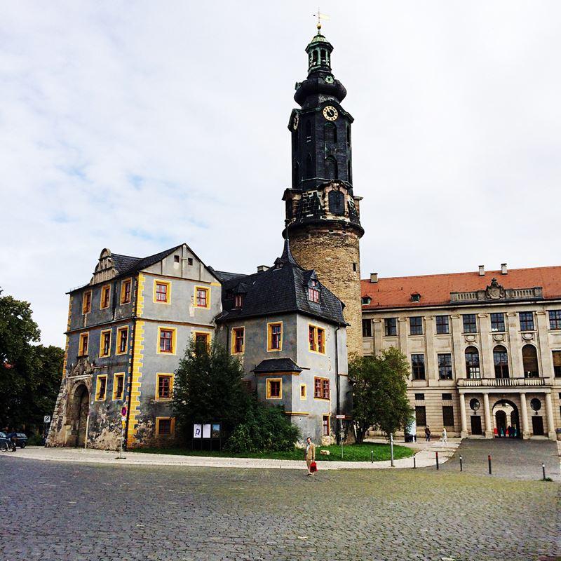 Крупные и красивые города Германии - Веймарский замок