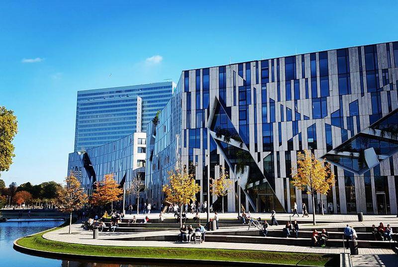 Крупные и красивые города Германии - Современная архитектура Дюссельдорфа