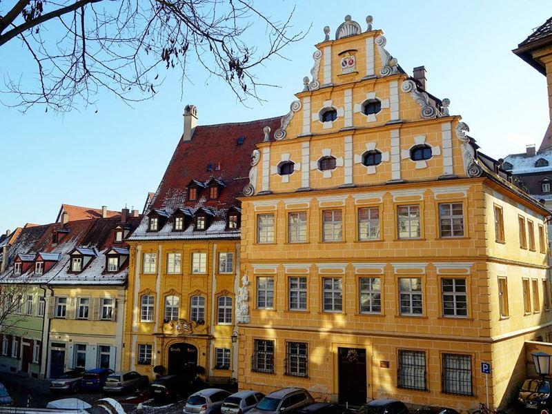 Крупные и красивые города Германии - Архитектура Бамберга