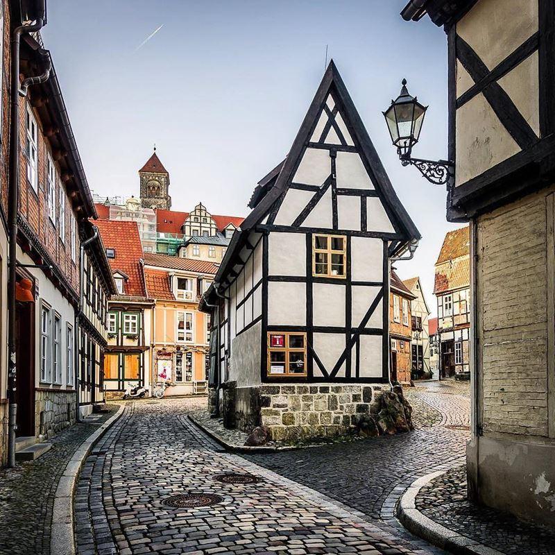 Крупные и красивые города Германии - Старый город Кведлинбурга