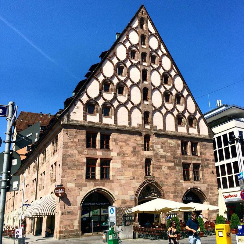 Крупные и красивые города Германии - Архитектура Нюрнберга