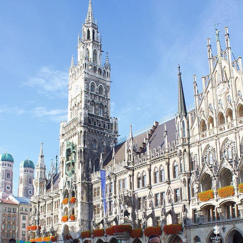 Крупные и красивые города Германии - Мюнхен - Новая ратуша
