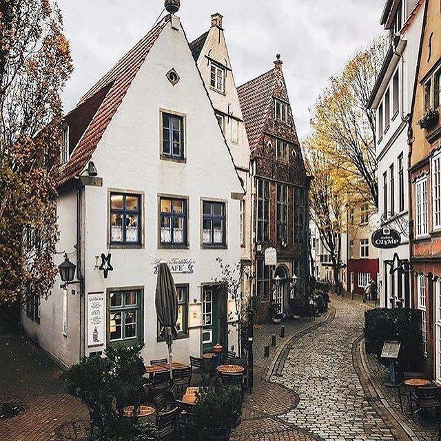 Крупные и красивые города Германии - Старый город Бремена