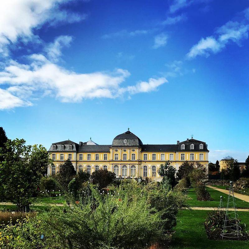 Крупные и красивые города Германии - Ботаническиe сады Боннского университета