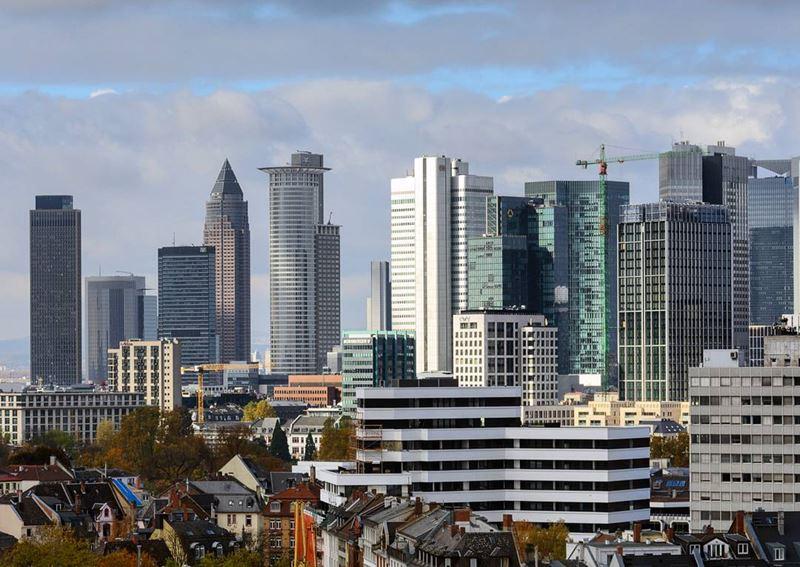 Крупные и красивые города Германии - Небоскрёбы Франкфурта-на-Майне