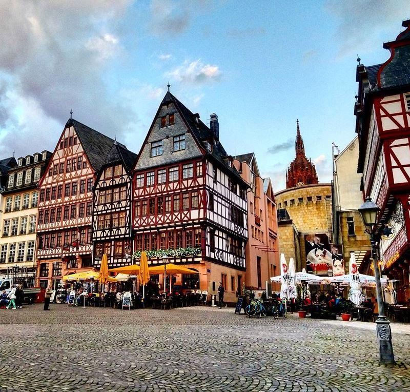 Крупные и красивые города Германии - Старый город Франкфурта-на-Майне