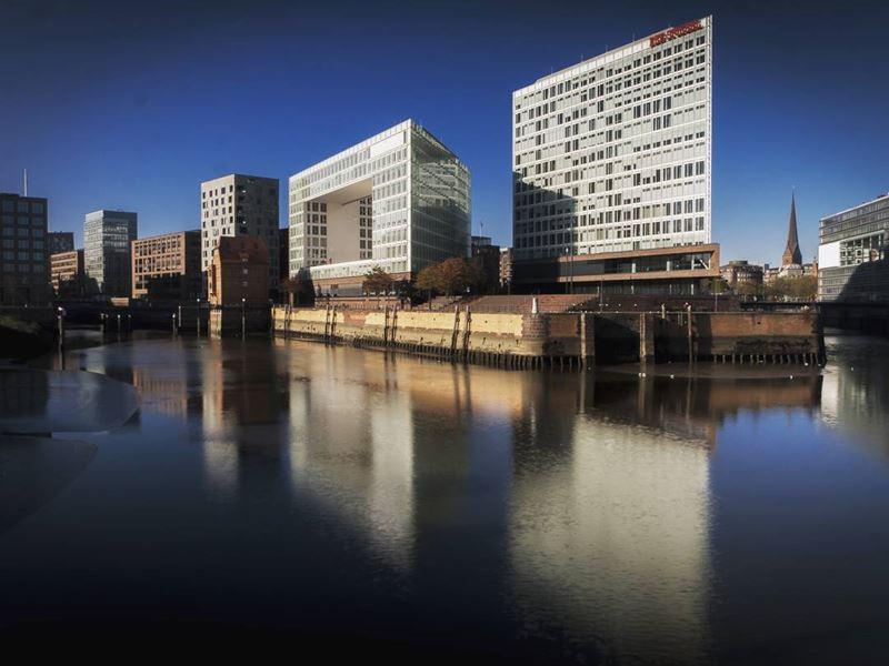 Крупные и красивые города Германии - Гамбург - порт