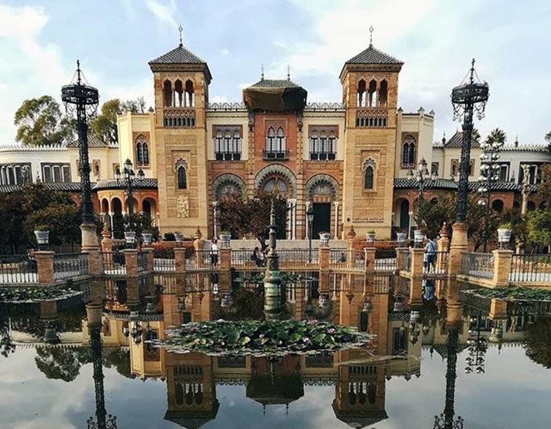 Крупные и красивые города Испании - Малага - Парк Марии Луизы