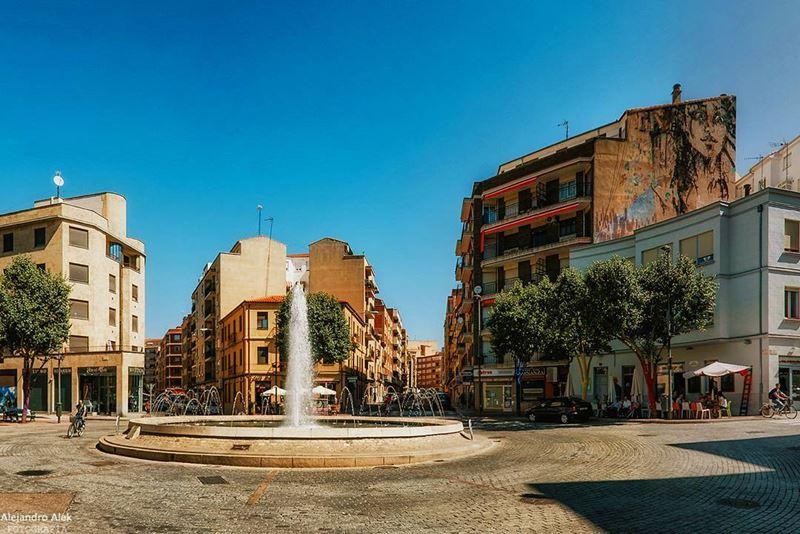Крупные и красивые города Испании - Саламанка - площадь Пласа дель Оэсте