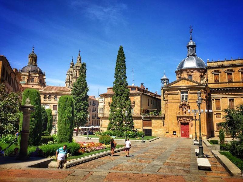 Крупные и красивые города Испании - Саламанка