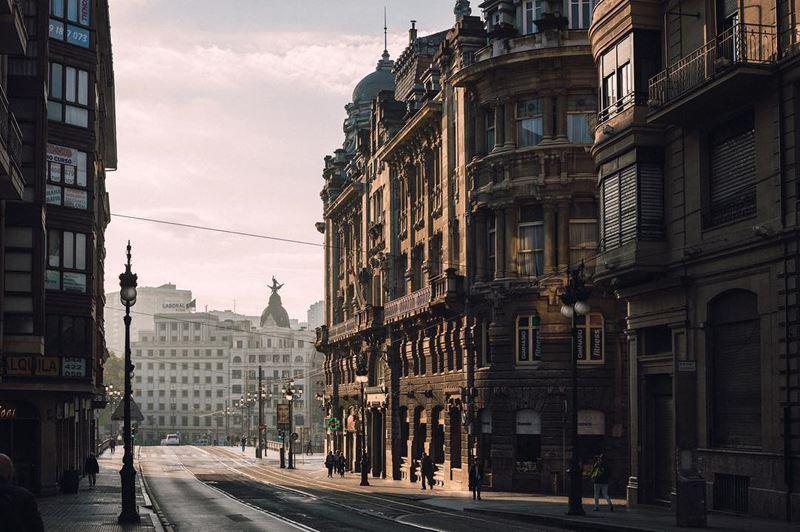 Крупные и красивые города Испании - Архитектура Бильбао