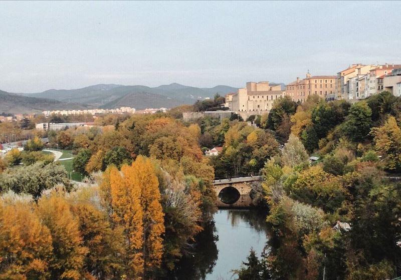 Крупные и красивые города Испании - Памплона - пейзаж