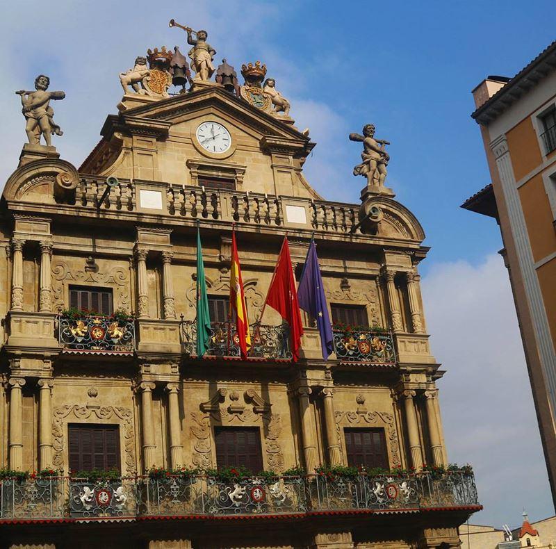 Крупные и красивые города Испании - Архитектура Памплоны