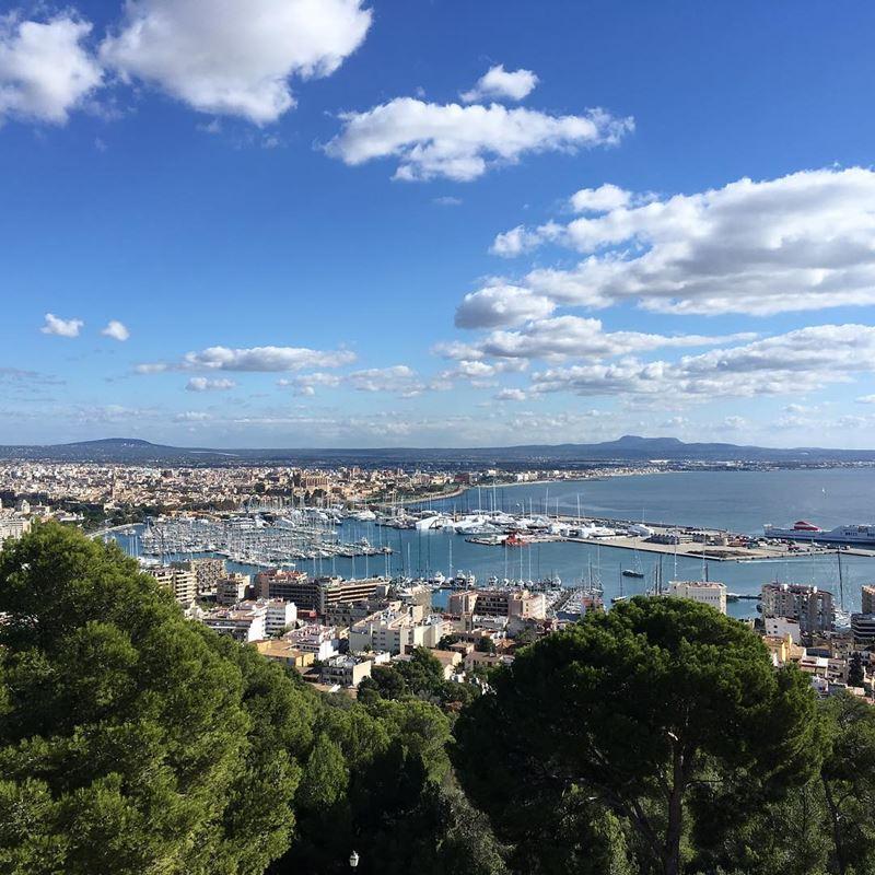 Крупные и красивые города Испании - Пальма-де-Майорка - гавань