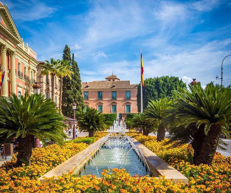 Крупные и красивые города Испании - Тропический сад в Мурсии