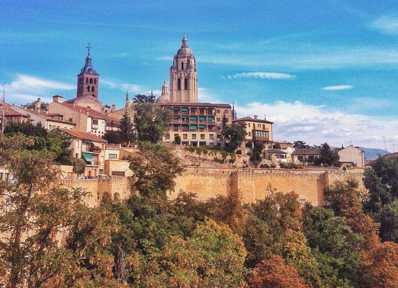 Крупные и красивые города Испании - Архитектура Сеговии