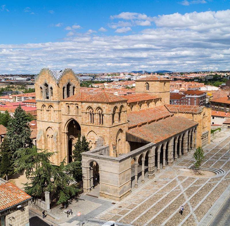 Крупные и красивые города Испании - Авила - Базилика Сан-Висенте