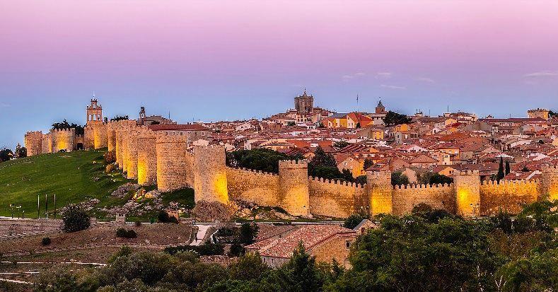 Крупные и красивые города Испании - Авила - Средневековая крепость