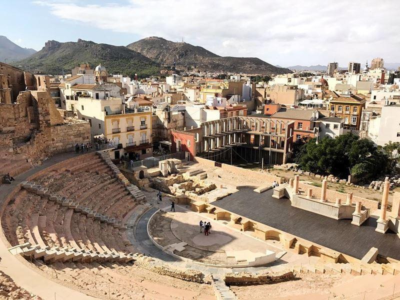 Крупные и красивые города Испании - Картахена - Римский амфитеатр