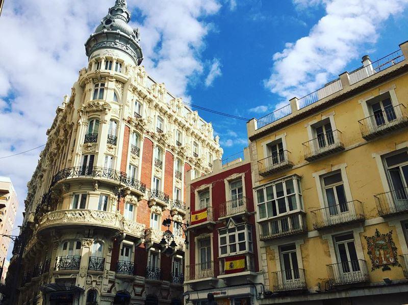Крупные и красивые города Испании - Архитектура Картахены