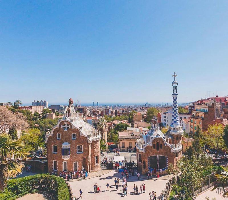 Крупные и красивые города Испании - Барселона - Парк Гуэль
