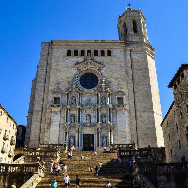 Крупные и красивые города Испании - Жирона - Кафедральный собор