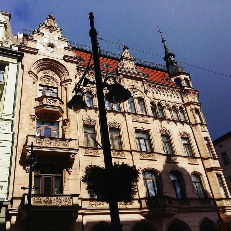 Крупные и красивые города Польши - архитектура Лодзи