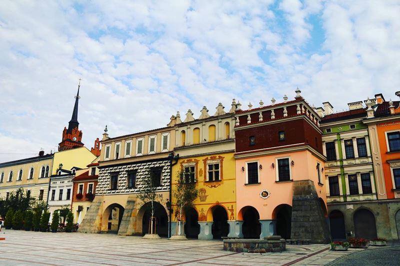 Крупные и красивые города Польши - Архитектура Рыночной площади Тарнува