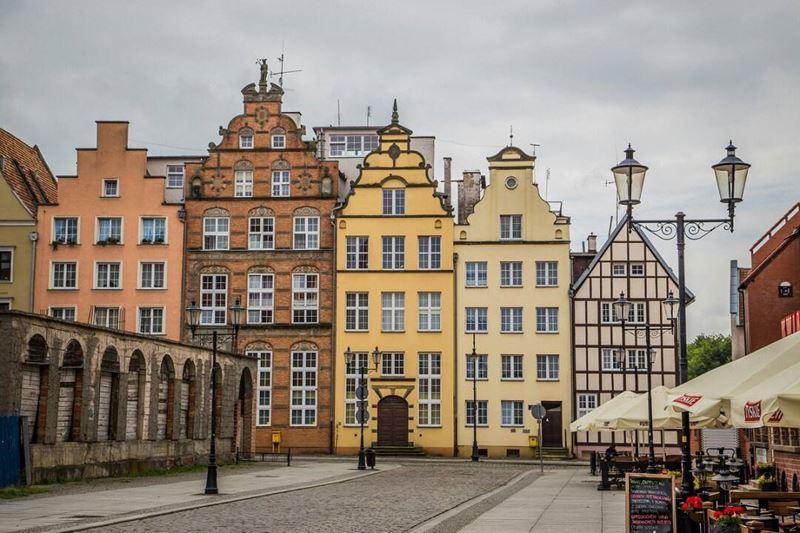 Крупные и красивые города Польши - Улица Эльблонга