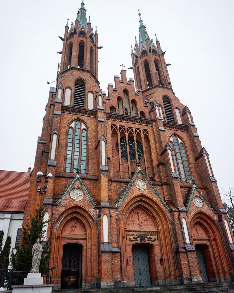 Крупные и красивые города Польши - Ченстохова - Базилика Святого Семейства – кафедральный храм