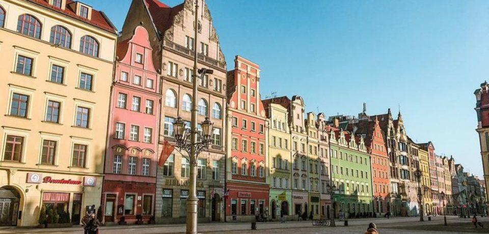 Крупные и красивые города Польши