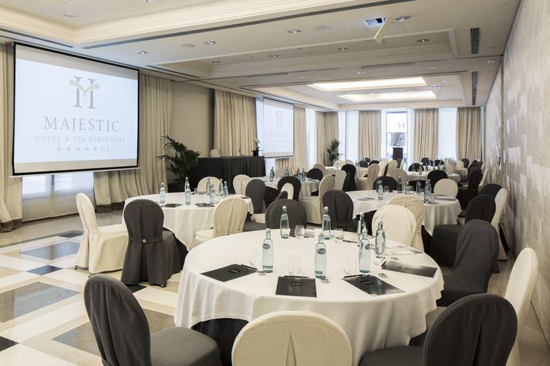 Организация мероприятий в Majestic Hotel & Spa Barcelona