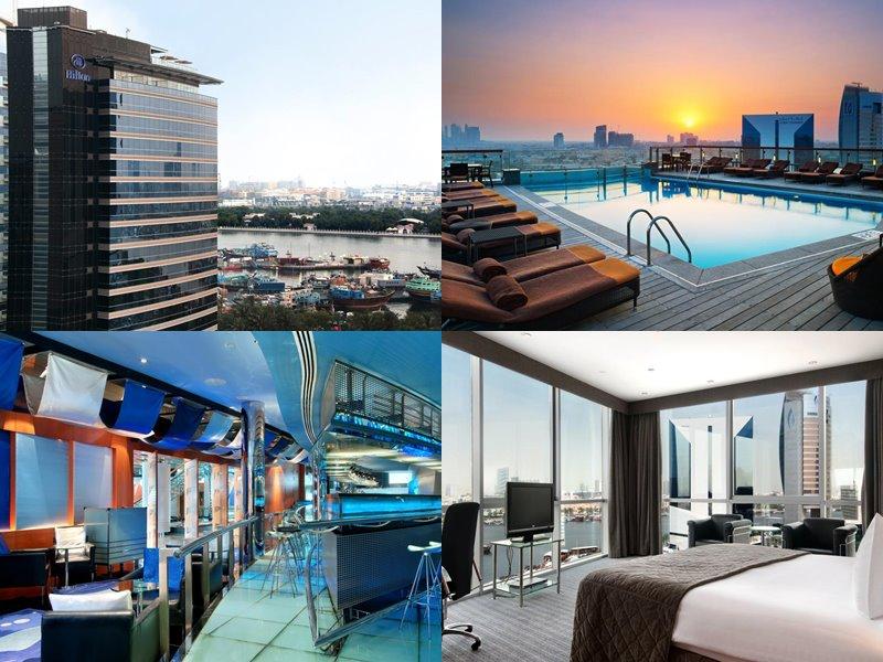 Отели Дубая с бассейном на крыше: Hilton Dubai Creek (5 звёзд)