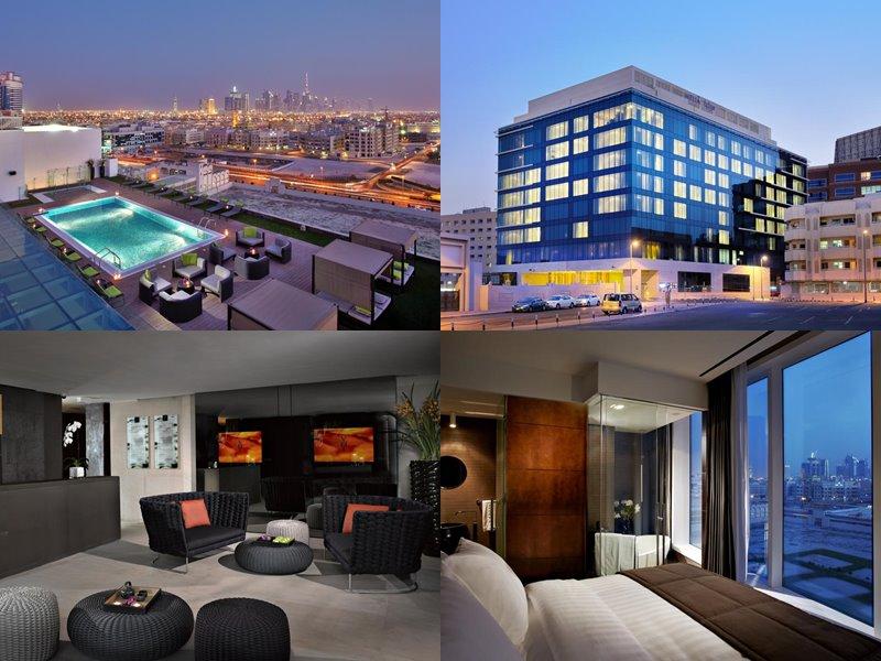 Отели Дубая с бассейном на крыше: Melia Dubai Hotel(5 звёзд)