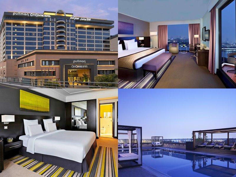 Отели Дубая с бассейном на крыше: Pullman Dubai Creek City Centre(5 звёзд)