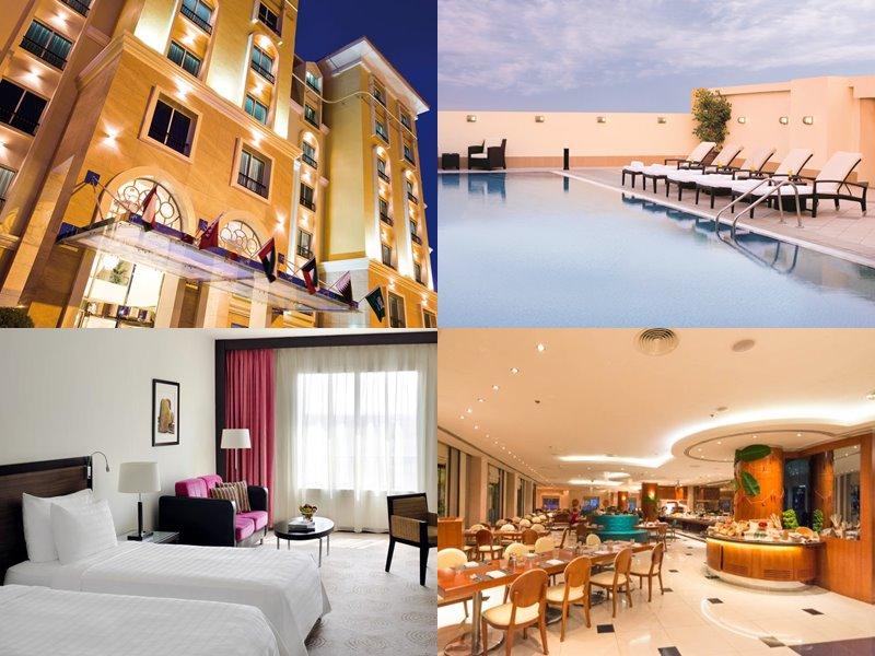 Отели Дубая с бассейном на крыше: Avani Deira(5 звёзд)