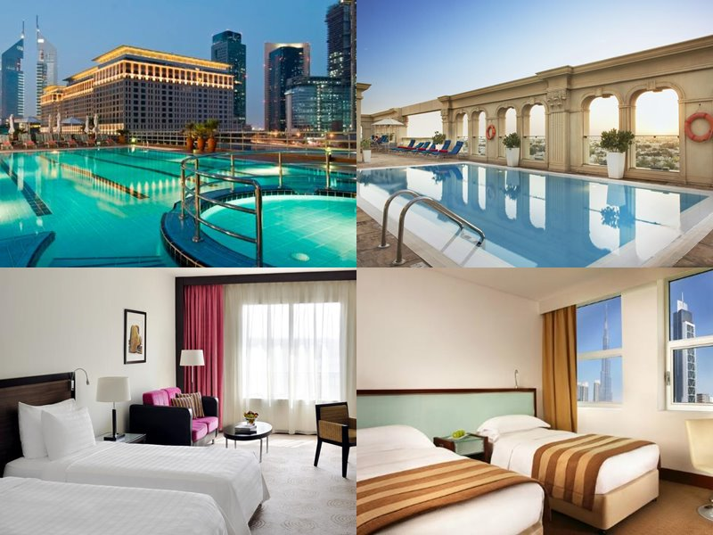 Отели Дубая с бассейном на крыше: Villa Rotana (4 звезды)