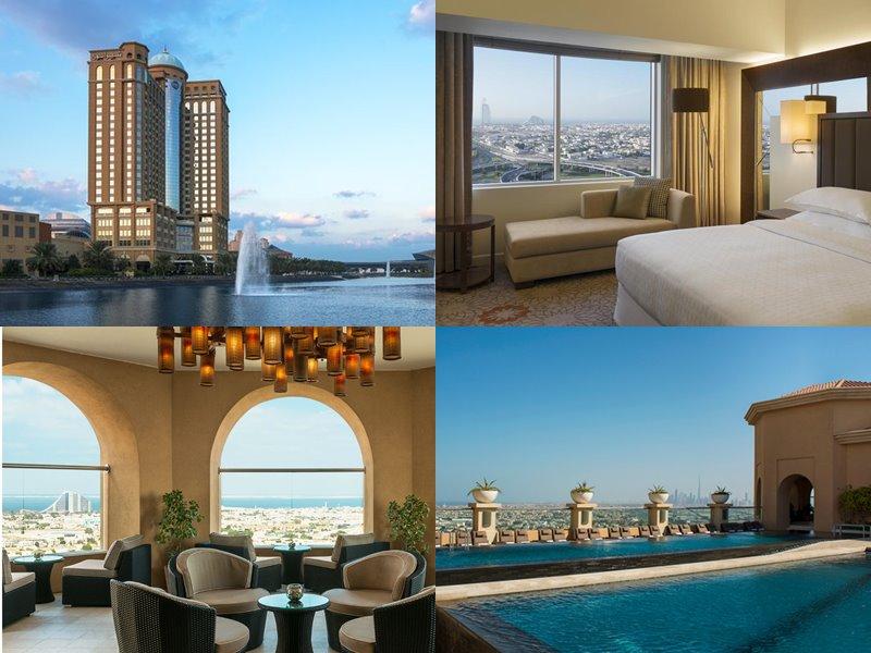Отели Дубая с бассейном на крыше: Sheraton Mall of the Emirates(5 звёзд)