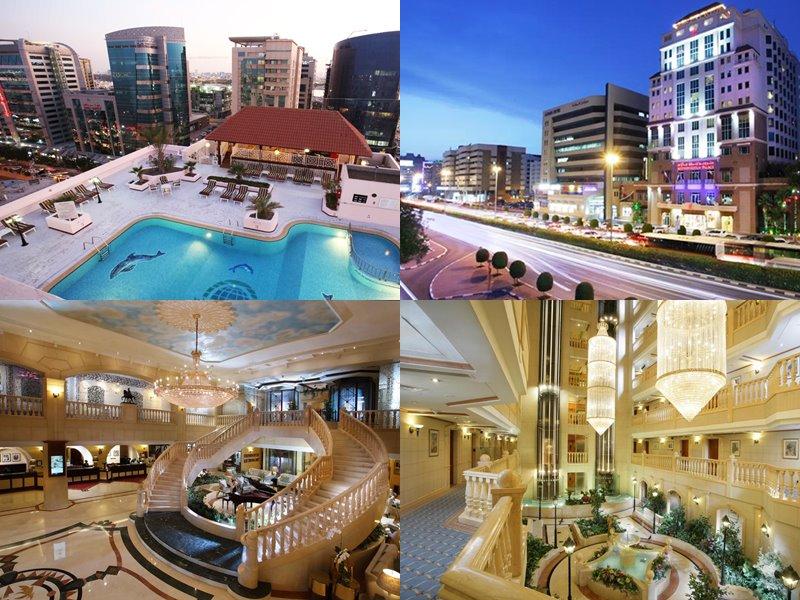 Отели Дубая с бассейном на крыше: Carlton Palace Hotel(5 звёзд)
