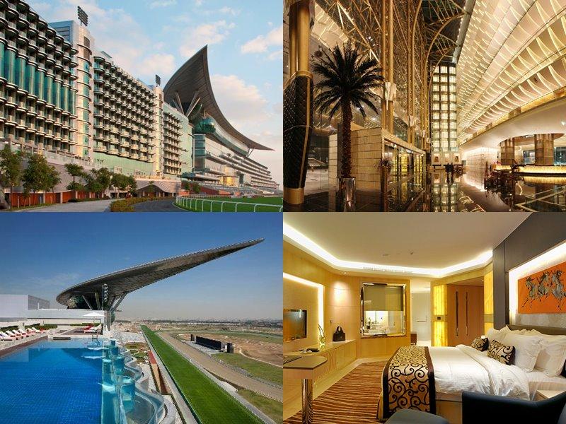 Отели Дубая с бассейном на крыше: The Meydan Hotel(5 звёзд)