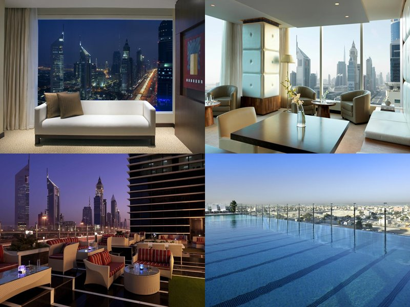 Отели Дубая с бассейном на крыше: Nassima Royal Hotel(5 звёзд)