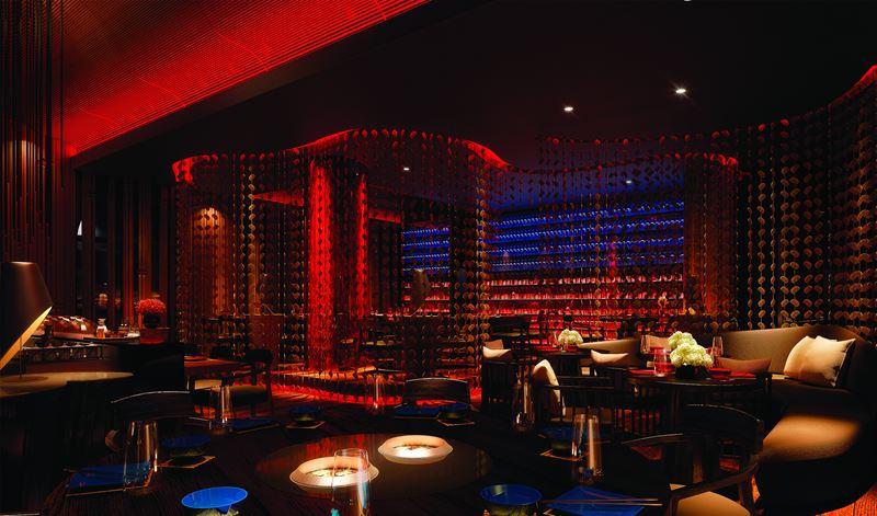 Курорт Shangri-La's Le Touessrok Resort & Spa - японский ресторан Kushi