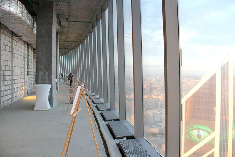 Смотровая площадка Panorama 360 в Москва-Сити, башня Федерация