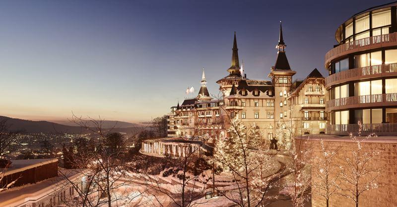 Рождественские каникулы в отеле The Dolder Grand