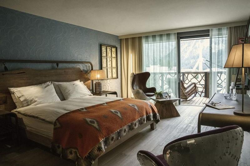 Valsana Hotel & Appartements - дизайн интерьера номера
