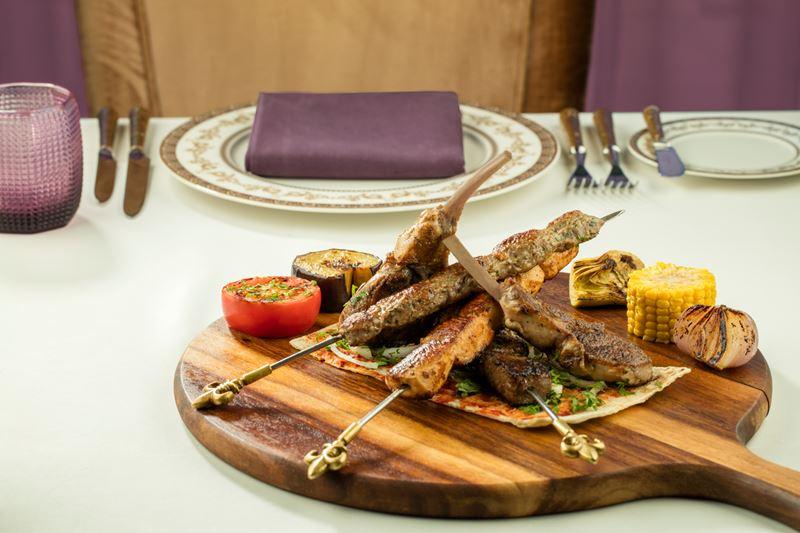 Waldorf Astoria Ras al Khaimah - блюдо ресторана Marjan