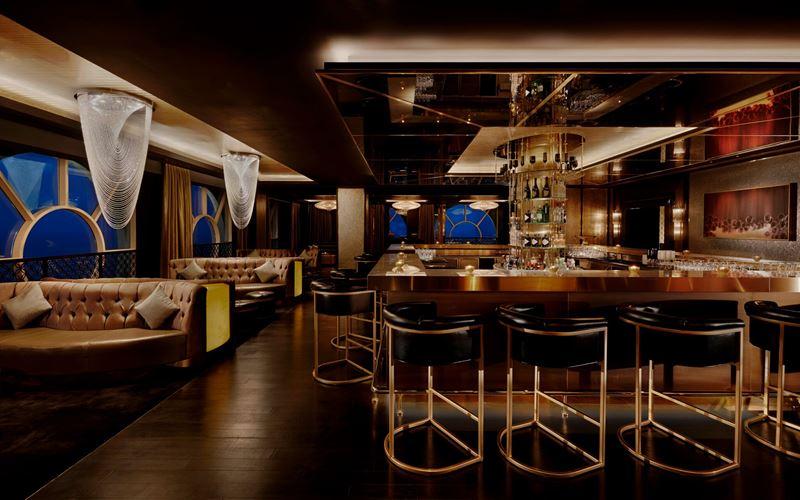 Waldorf Astoria Ras al Khaimah - интерьер ресторана 17Squared