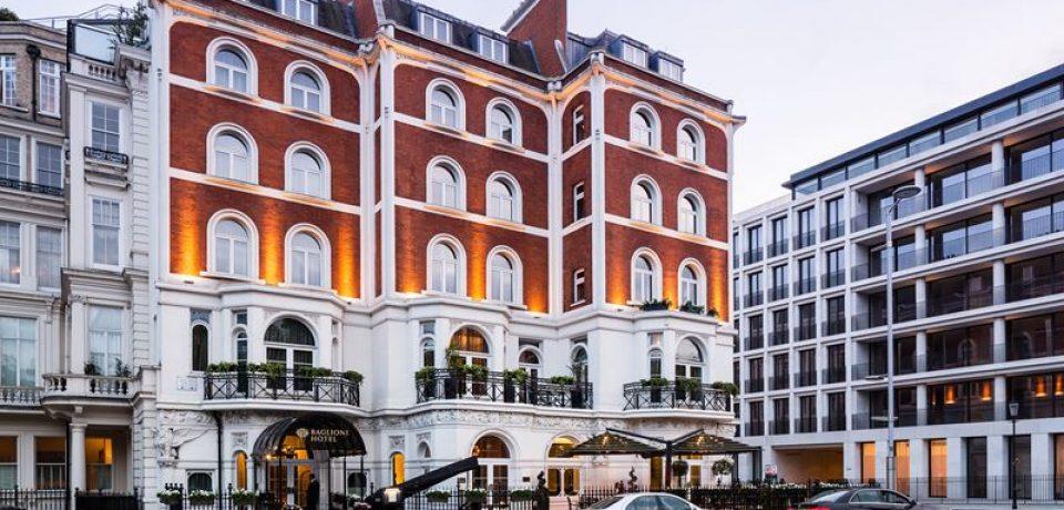 Новый Год в Baglioni Hotel London