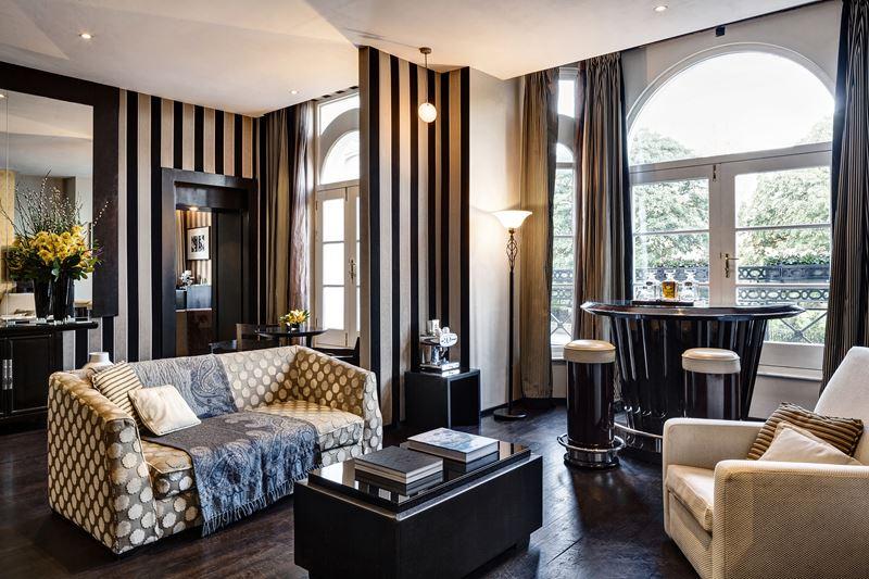 Новый Год в Baglioni Hotel London - номер Royal Suite