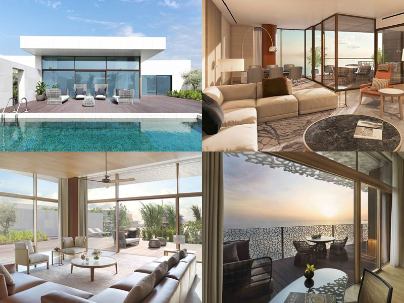 Новый курорт Bulgari Resort & Residences Dubai